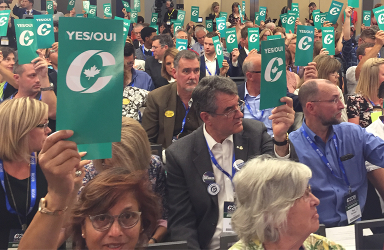 Social conservatives score big policy wins at CPC convention